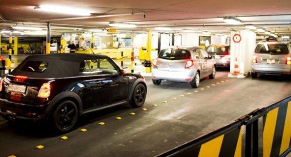 Parking du Mont Blanc modernisation