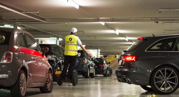 parking Mont-Blanc